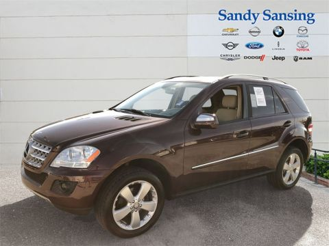 Pre-Owned 2009 Mercedes-Benz ML 350 M-Class